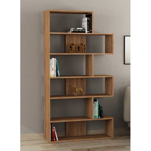 Bookcase Symple Stuff Colour Oak Office Storage Furniture Home