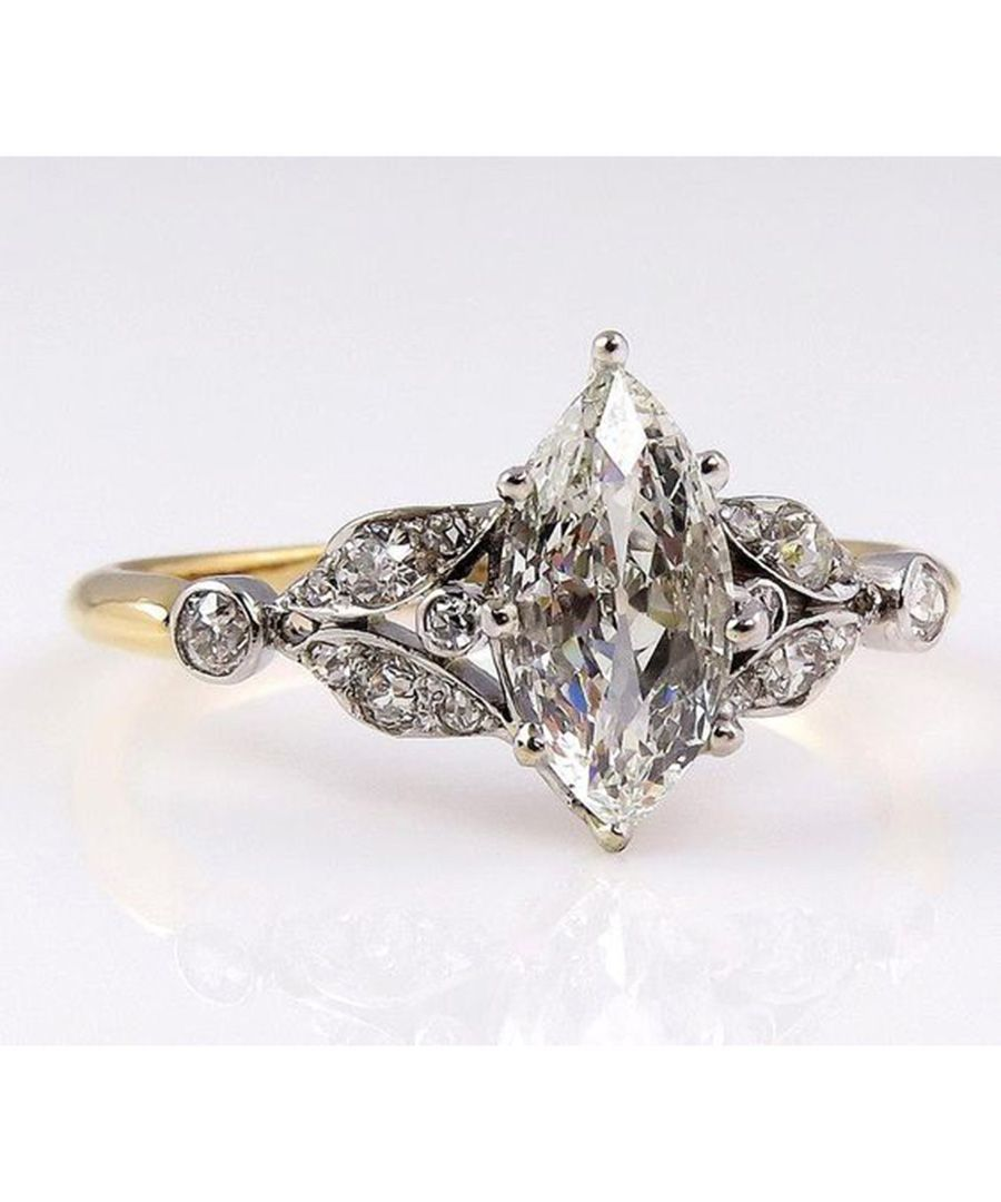 Vintage engagement rings engagement ring and diamond