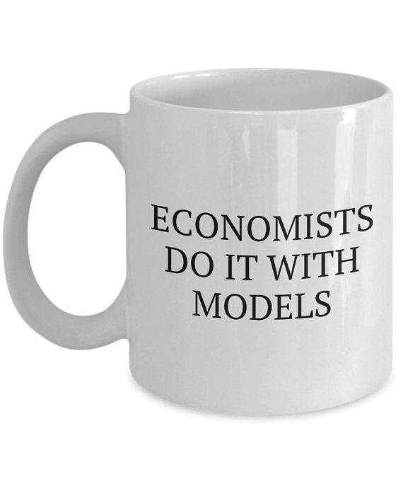 Funny Economics Mug Economist Gift Idea Economics Teacher Or Student Present Economists Do It Mugs Economist Economics