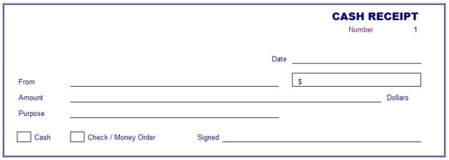 cash receipt template cash receipt template receipt of payment