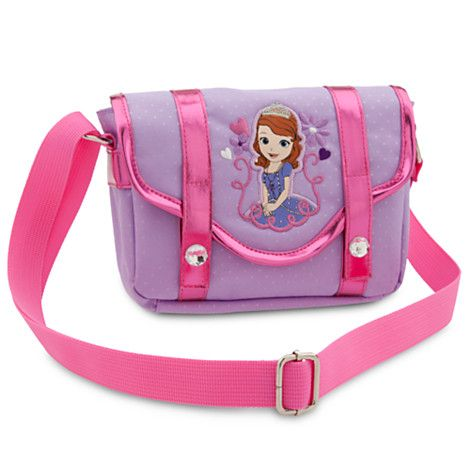 Official Licensed Merchandise Sofia the First Zipped Shoulder Hand Bag