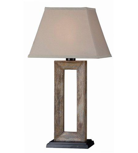 Kenroy Lighting 30515sl Egress 19 Inch 100 Watt Natural Slate Table Lamp Portable Light Outdoor Table Lamps Table Lamp Outdoor Lamp