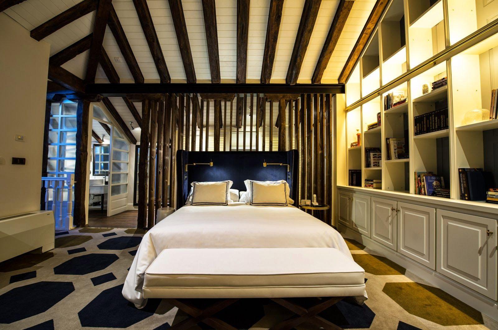 Un hotel cargado de encanto en pleno corazón de Madrid.