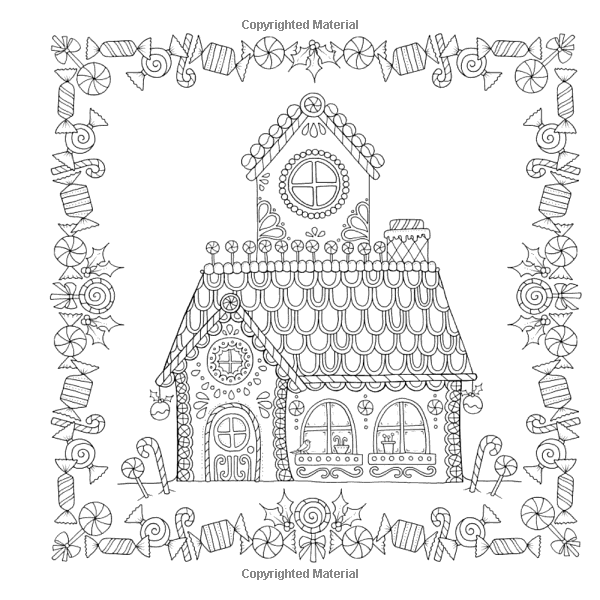 Amazon.com: Johanna's Christmas: A Festive Coloring Book For Adults  (9780143129301): Johann… Christmas Coloring Pages, Basford Coloring Book,  Christmas Colors