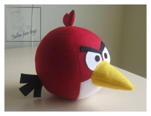 Making angry birds RED