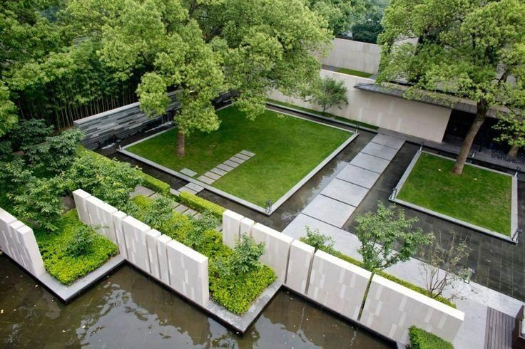 Seeking Beautiful Landscape Ideas Building Digest Brings You Spectacular Examp Tropical Landscape Design Contemporary Landscape Design Modern Landscape Design