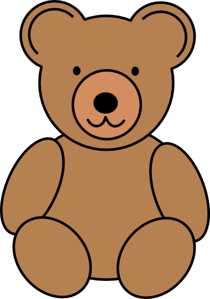 teddy bear clip art vector clip art online royalty free rh pinterest com bear clip art silhouette bear clipart for campout vbs