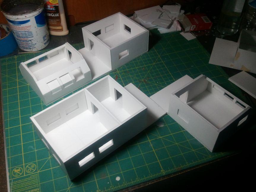 The Basics Of Foam Board Terrain Toy Train Model Trains Foam Board Projects