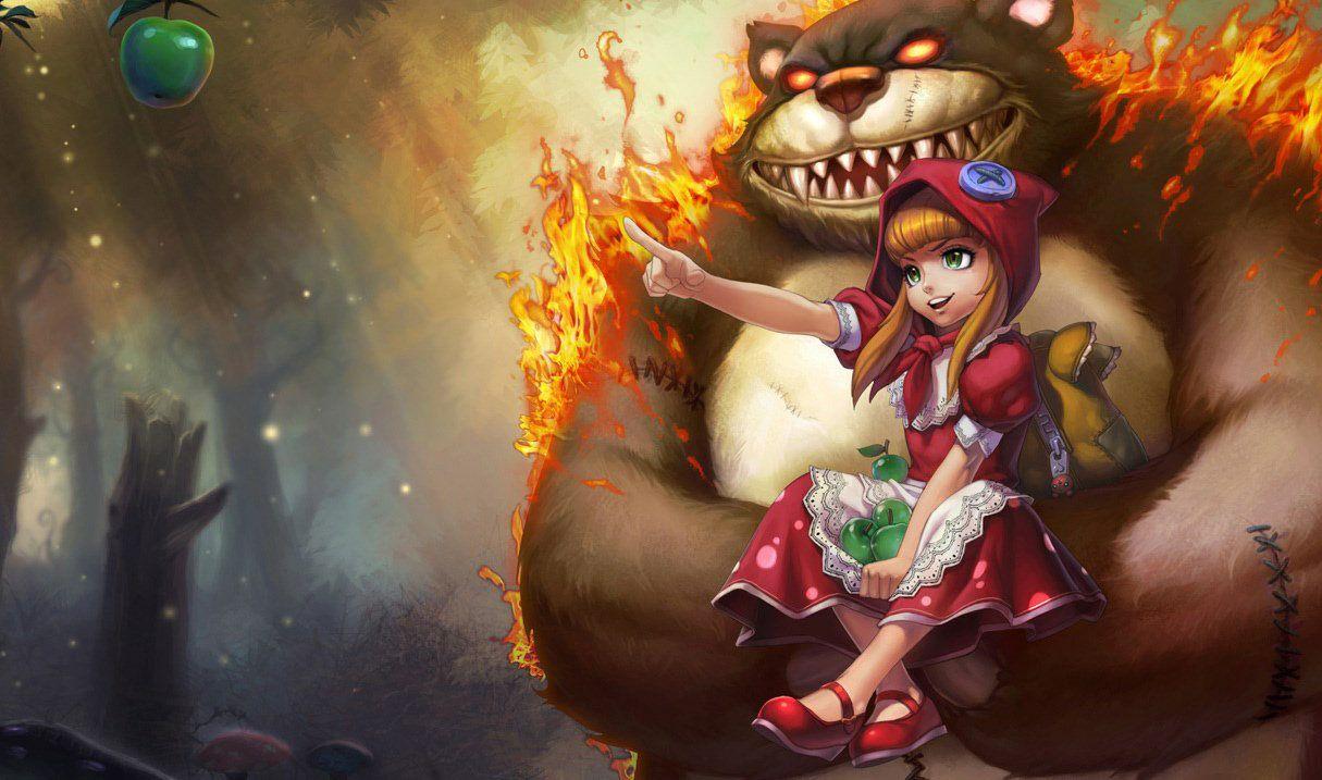 Red Riding Annie Annie league of legends, League of legends