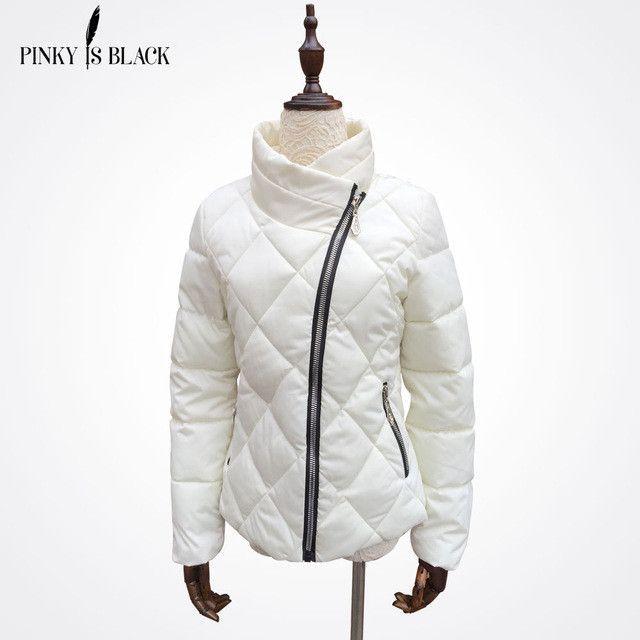 2016 winter jacket women down cotton-padded jacket parka female wadded jacket short slim diamond women winter coat outerwear