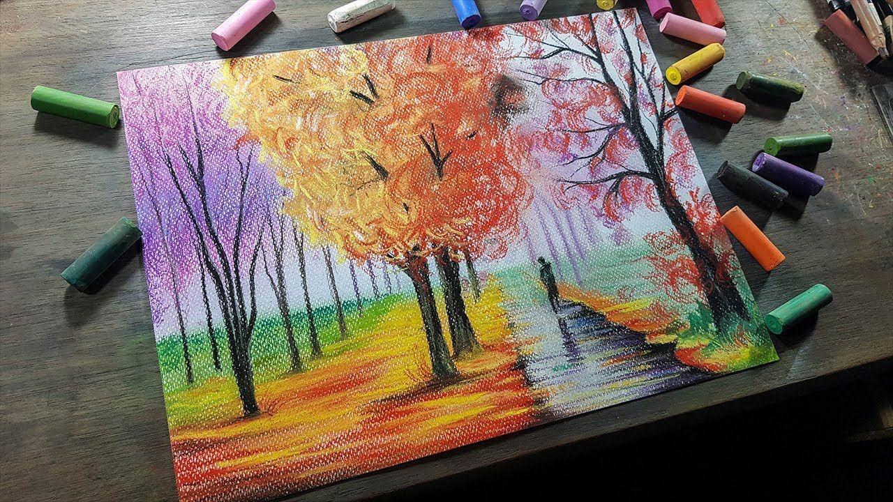 Aprende A Dibujar Este Paisaje Impresionista Facil Y Rapido Impresionismo Dibujos Sencillos Dibujos Kawaii