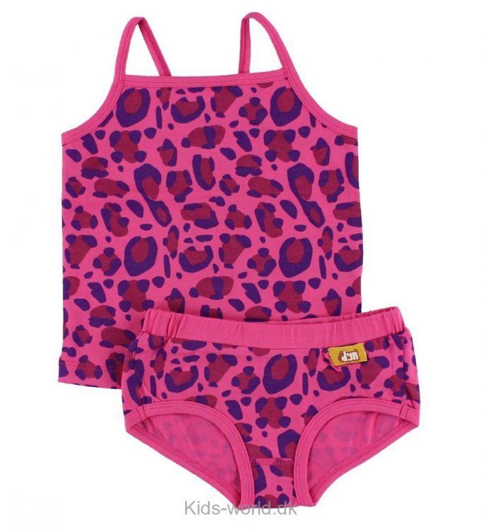 DYR Undertøj - Nest Undie Set - Pink Leopard - Børnetøj med fri fragt.