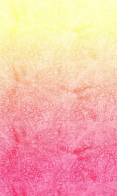 Yellow Pink 아이폰 월페이퍼 Pinterest Wallpaper Iphone