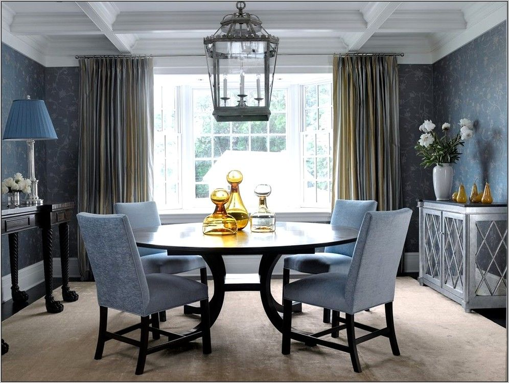 Dining Room Decorating Ideas Black Table in 2020 (With ...