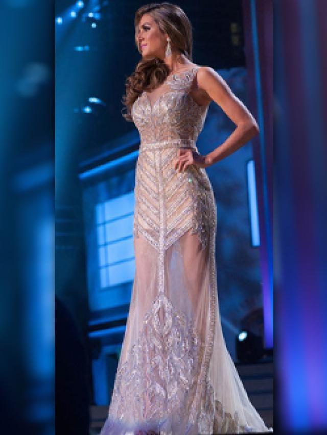 El Mejor Vestido De Noche De Miss Universo Exquisite Gowns Pageant Gowns Dresses