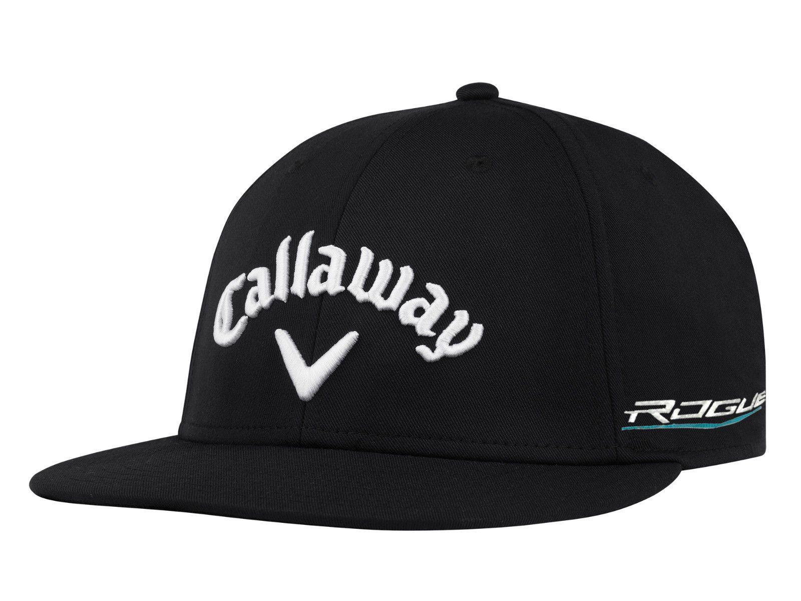 Callaway Golf 2018 TA Performance Pro Flat Bill Rogue Hat Cap COLOR  Black dfbfab49085
