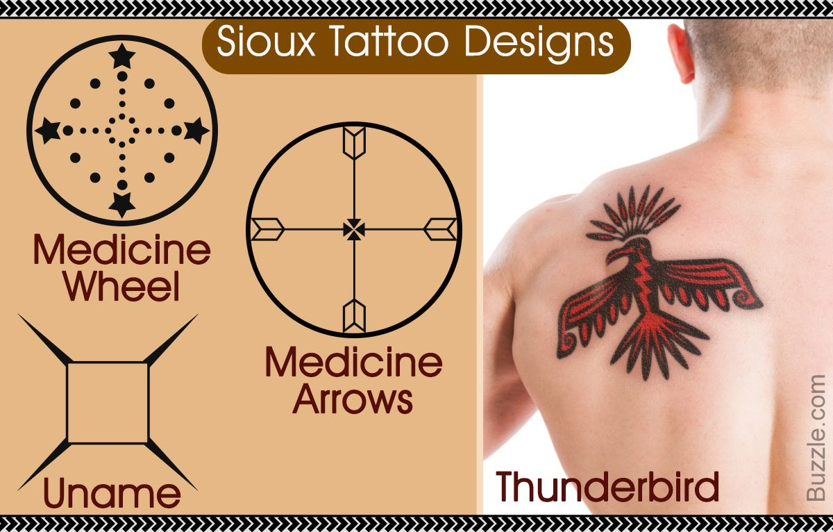 Sioux Tattoo Designs Medicine Wheel Medicine Arrows Uname Thunderbird Native American Tattoos American Tattoos Tattoos