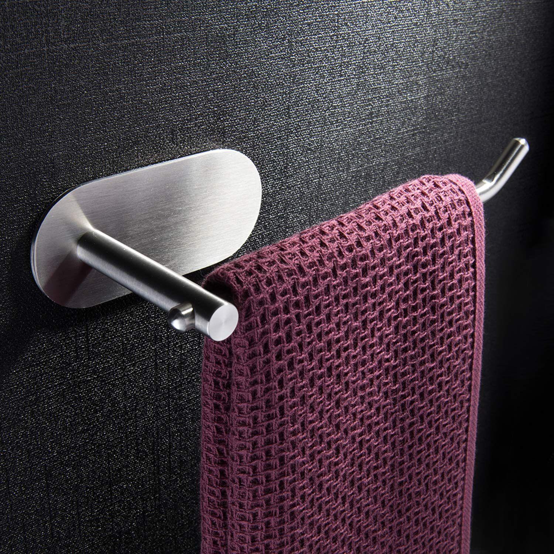 Kitchen Towel Hooks Self Adhesive Towel Hook Bathroom Towel Holders Pink