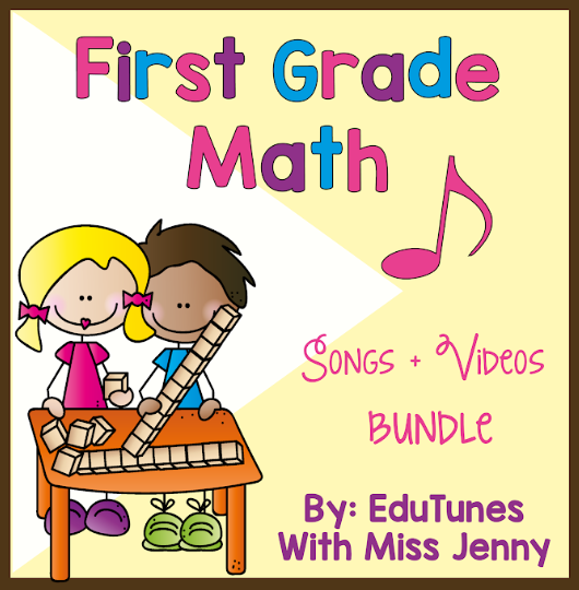 Photo of 1st Grade Math COMPLETE Video Set | Share in Distance Learning Packets