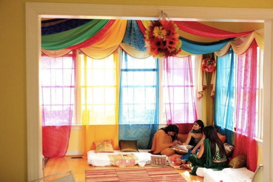 Mendhi Home Indian Wedding Decorations Diy Wedding Backdrop