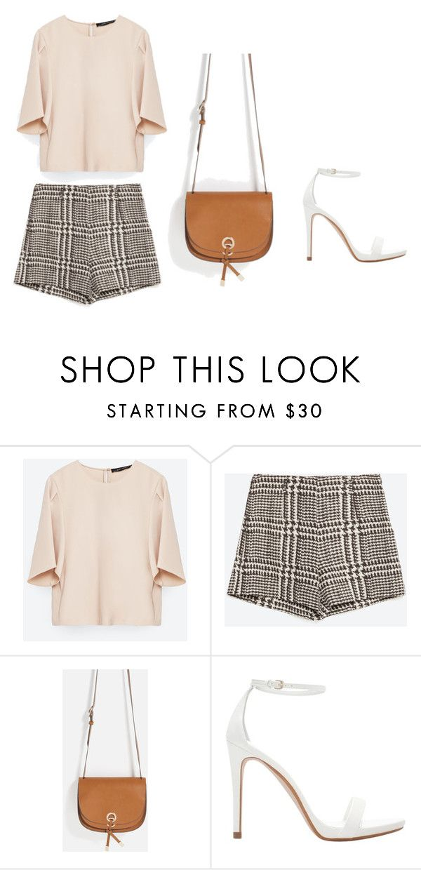 """""""Zara outfit"""" by sara-stylee ❤ liked on Polyvore featuring Zara, outfit, NightOut, zara, summerstyle and girlsnightout"""