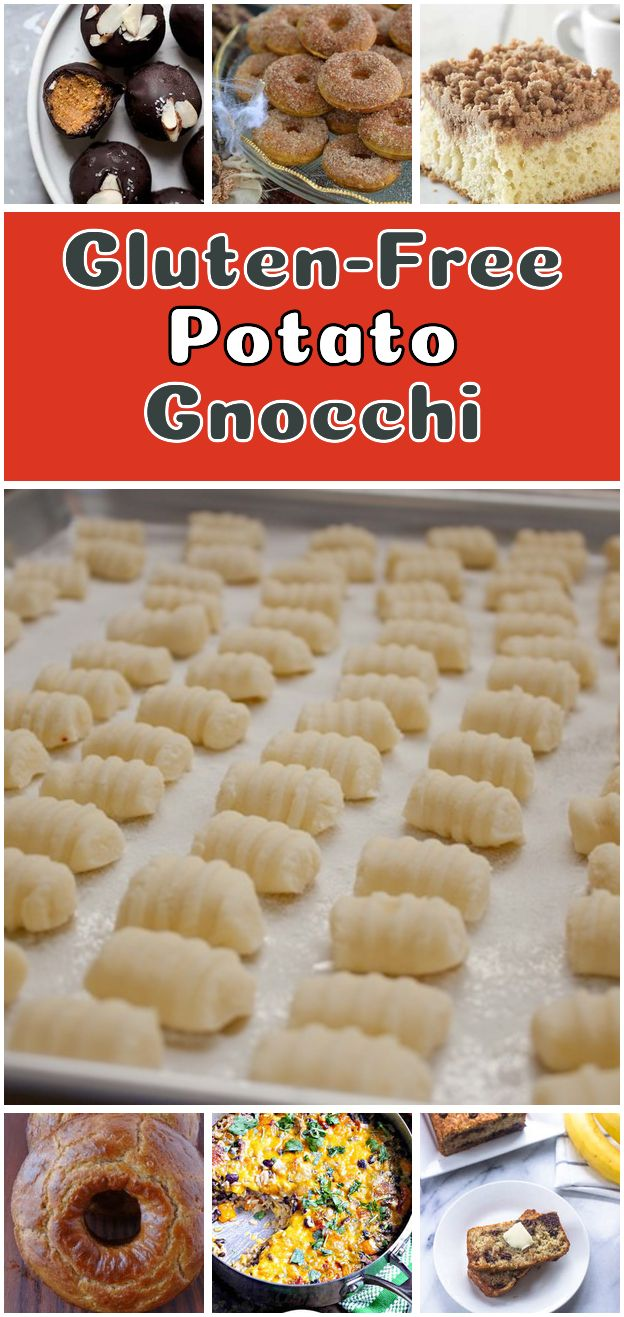 Gluten-Free Potato Gnocchi. Gluten-Free Potato Gnocchi Recipe with russet potatoes white rice flour sweet rice flour large eggs kosher salt - Gluten free Recipes #dairy #free #potato #recipes #glutenfree #russetpotatorecipes