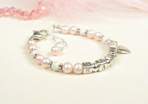 freshwater pearl sterling silver  bracelet, I need to order this!