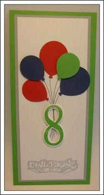 Kreatives Aus Papier Stampin Up Einladung Kindergeburtstag