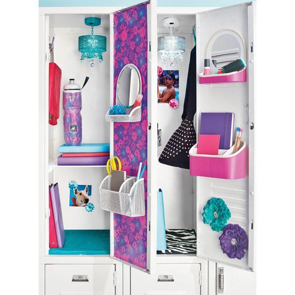 Locker Wallpaper Diy: 15 Cute Ways To Decorate Your Locker This Year