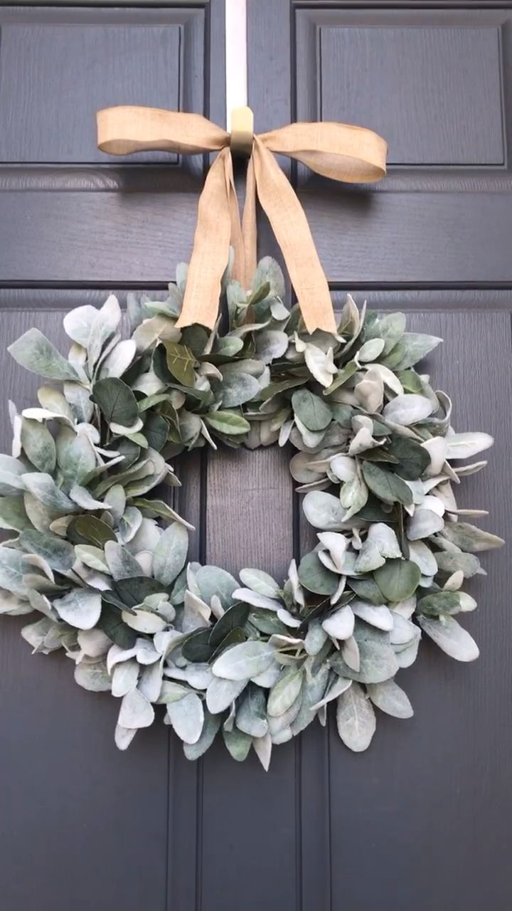 Photo of Farmhouse eucalyptus wreath
