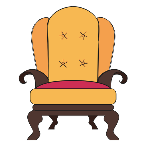 Royal Armchair Cartoon Ad Affiliate Sponsored Cartoon Armchair Royal In 2020 Armchair Background Design Cartoon