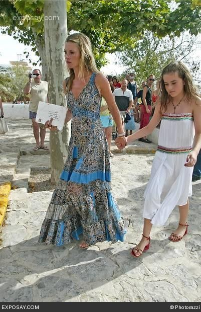 9f85aaa95aea7 Kate Moss - The Wedding of Charlotte Tilbury in Ibiza Spain