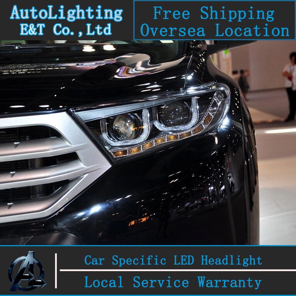 Car Styling Led Head Lamp For Toyota Highlander Led Headlights
