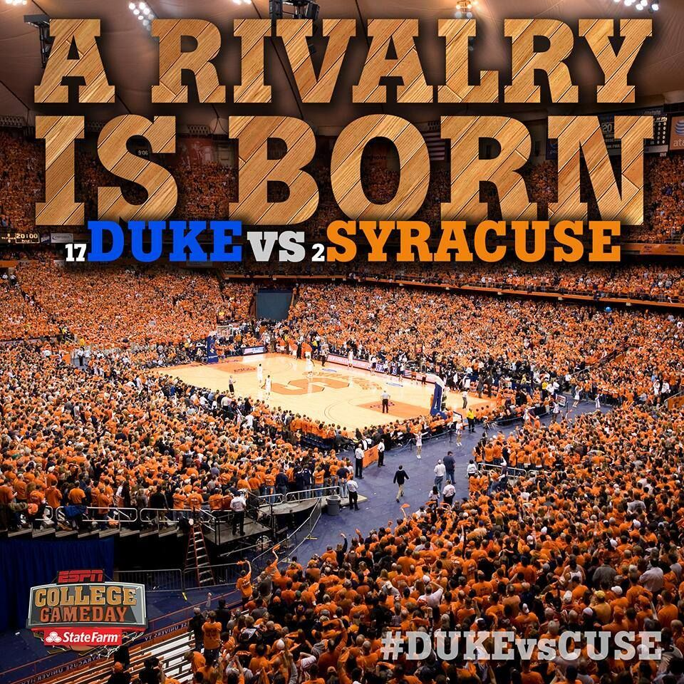 Who S Excited Join Our Community On Facebook At Http Facebook Com Bluedevilsfanclub Duke Vs Syracuse Basketball Carrier Dome