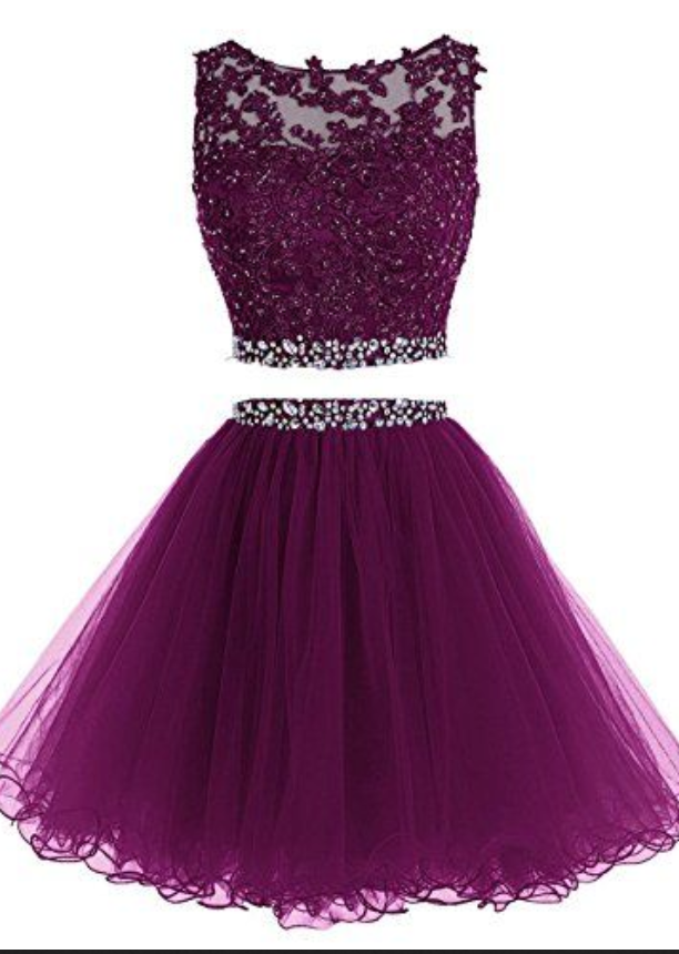 Short Tulle Evening Formal Party Cocktail Ball Gown Prom Bridesmaid ...