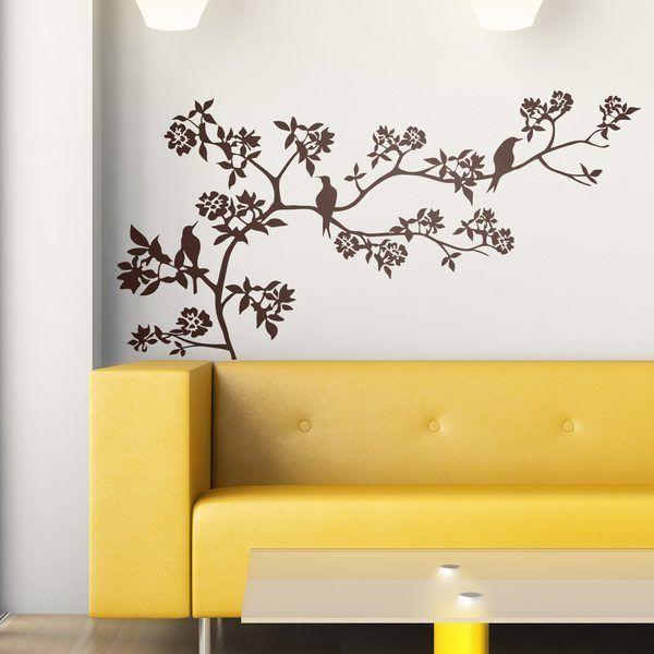 Vinilos Decorativos: Rama de un árbol en primavera | terraza jardin ...