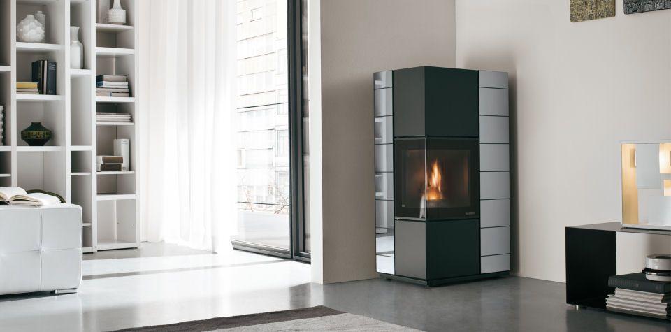 Ecofire eldora 9 1 kw specchio arredamento salotto for Specchio salotto