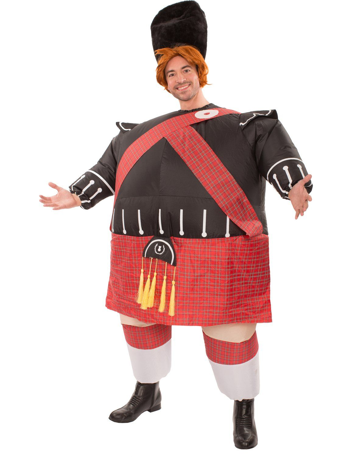 Adult Inflatable Fat Scot Costume | Costumes