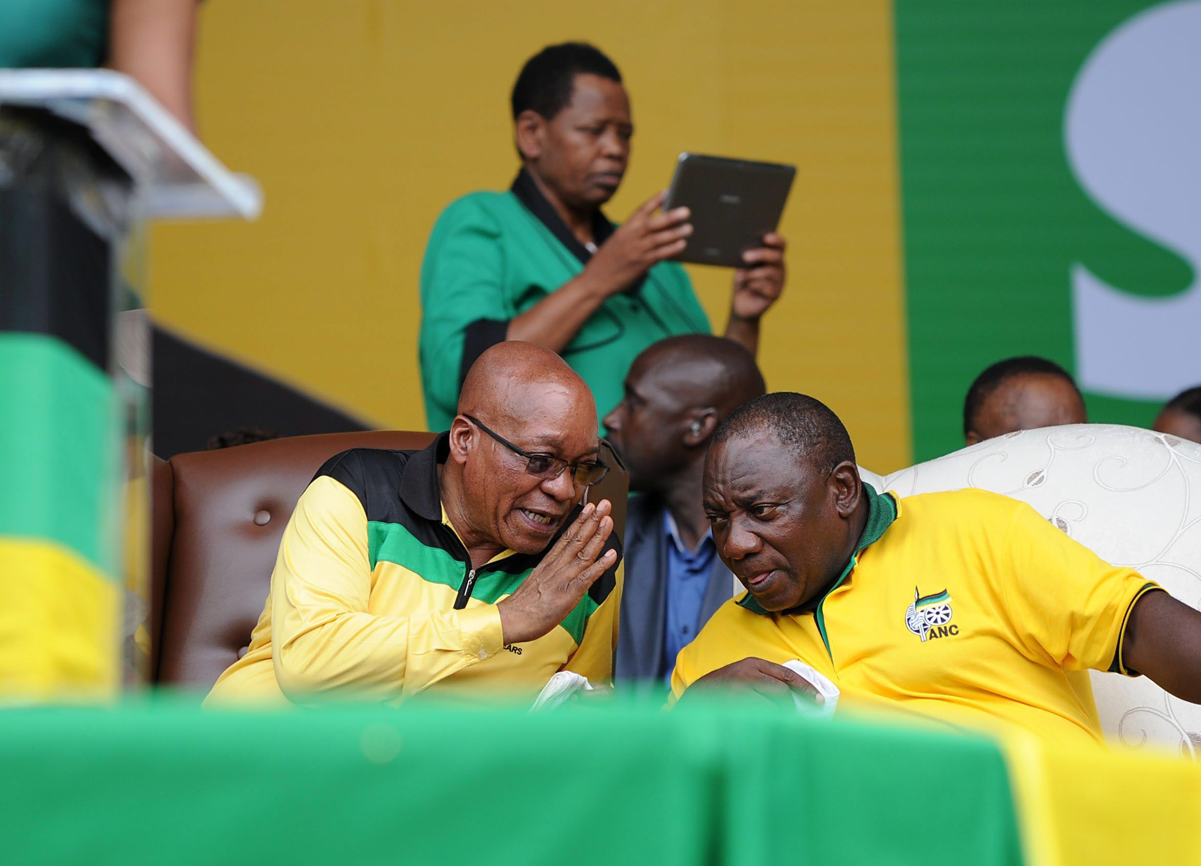 South African President Jacob Zuma said he's unconcerned about being booed in front of global leaders at a memorial event for Nelson Mandela last month as the ruling African National Congress prepares for an election win.  To read the full story click here: http://www.iol.co.za/business/news/zuma-unconcerned-by-jeering-1.1630956#.UtPY0KJN-lg