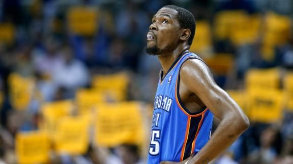 Oklahoma City will be without Kevin Durant for 6-8 weeks, as the Thunder star has been diagnosed with a Jones fracture in his right foot.