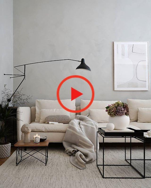 Das elegante und moderne Wohnzimmer Design und Dekor #modernlivingroom #homedecor #eleganthomedesign #wohnzimmerideen