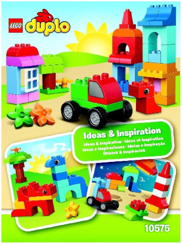 Lego Duplo Instructions Childrens Toys Kid Ideas