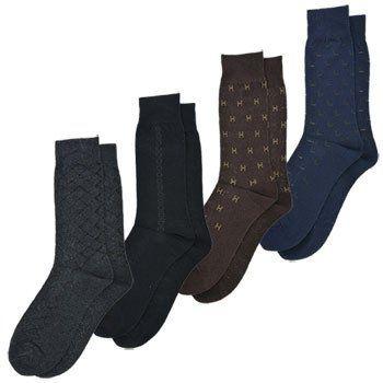 Men's Dress Socks (Set of 4 pairs)