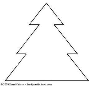 Printable Fir Tree Ornament Pattern | Pinterest | Fir tree, Firs and ...