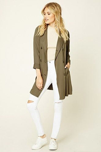 Sash-Tie Trench Coat - Meets physical needs