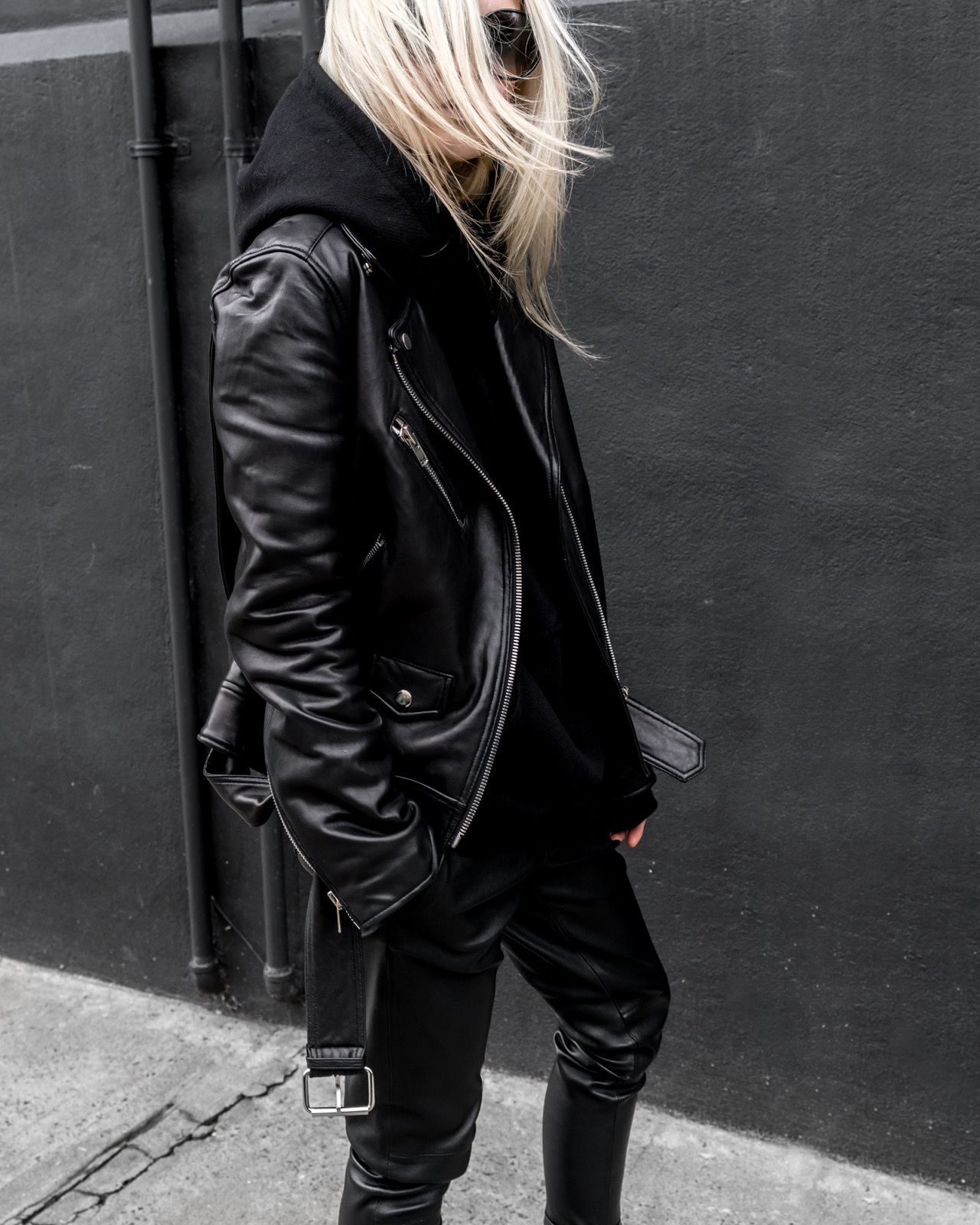 Leather Weather Casual Winter Outfits Leather Jacket Jackets [ 1600 x 1280 Pixel ]