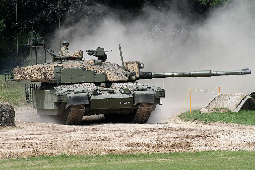 b7bcc7f41239 British Army Challenger 2 MBT DT22AA