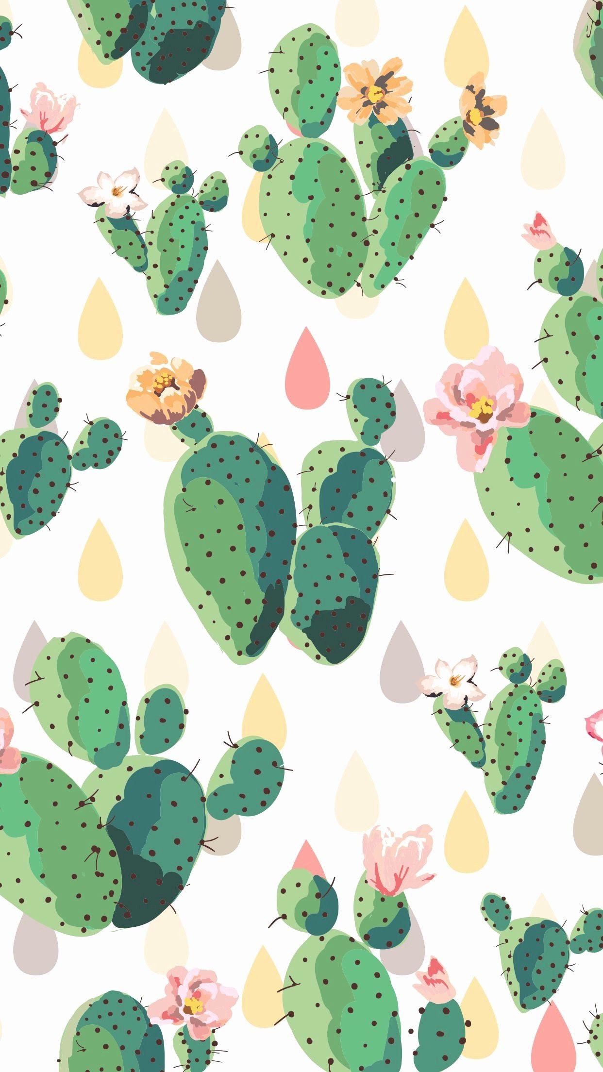 Elegant Cute Cactus Wallpaper Screen Savers Wallpapers Iphone Screen Savers Cute Screen Savers