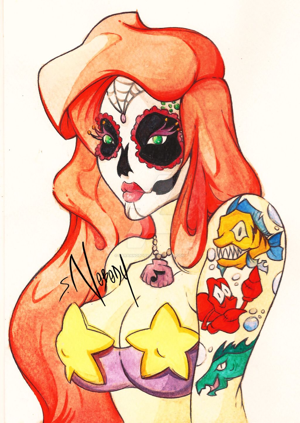 [Dead] Ariel. by SarahNOBODY on @DeviantArt