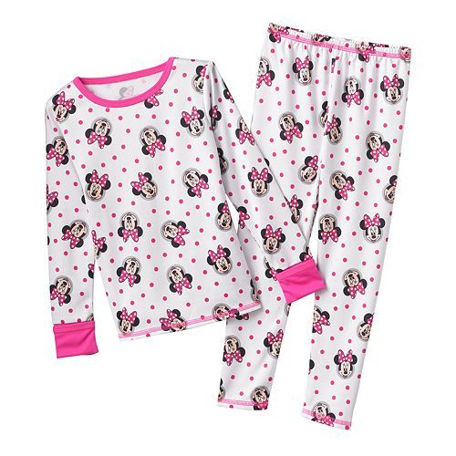 Disney Mickey Mouse & Friends Minnie Mouse Long Underwear Set by ...